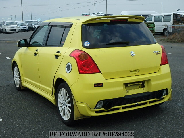 used 2009 suzuki swift sport cba zc31s for sale bf594032 be forward. Black Bedroom Furniture Sets. Home Design Ideas