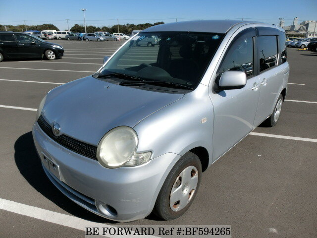Used 2003 TOYOTA SIENTA BF594265 for Sale