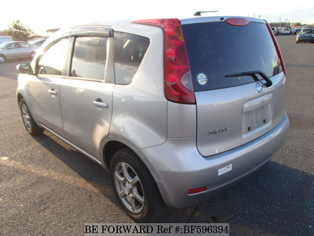 used 2010 nissan note 15x dba e11 for sale bf596394 be forward. Black Bedroom Furniture Sets. Home Design Ideas