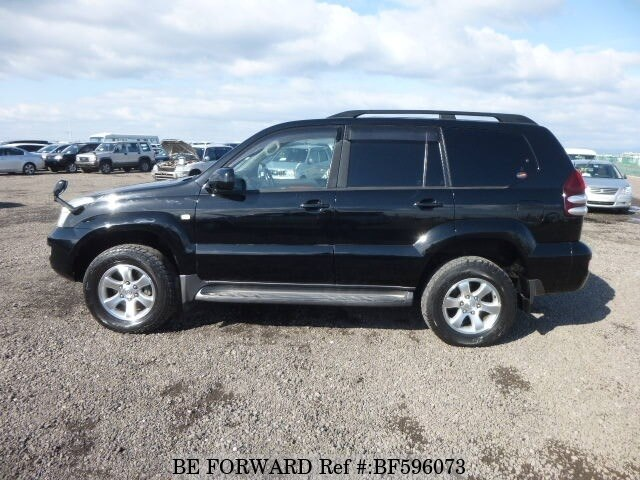 used 2005 toyota land cruiser prado tx limited cba trj120w for sale bf596073 be forward. Black Bedroom Furniture Sets. Home Design Ideas