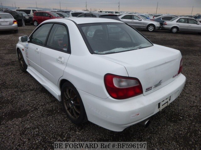used 2002 subaru impreza wrx sti type ra spec c gh gdb for. Black Bedroom Furniture Sets. Home Design Ideas