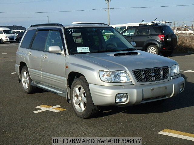 used 2000 subaru forester s tb gf sf5 for sale bf596477 be forward. Black Bedroom Furniture Sets. Home Design Ideas
