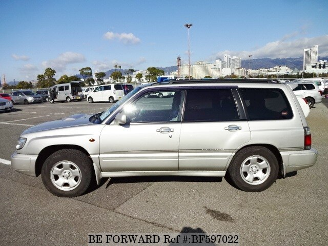 used 1998 subaru forester t tb gf sf5 for sale bf597022 be forward. Black Bedroom Furniture Sets. Home Design Ideas