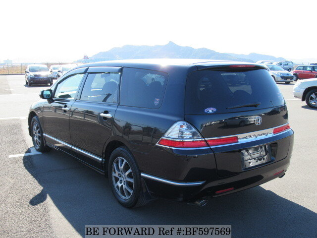used 2008 honda odyssey m hdd navi special edition dba rb1 for sale bf597569 be forward. Black Bedroom Furniture Sets. Home Design Ideas