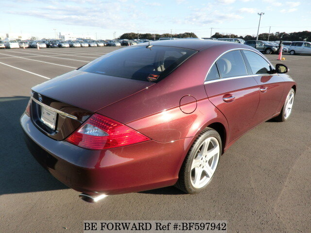 used 2005 mercedes benz cls class cls500 cba 219375 for sale bf597942 be forward. Black Bedroom Furniture Sets. Home Design Ideas