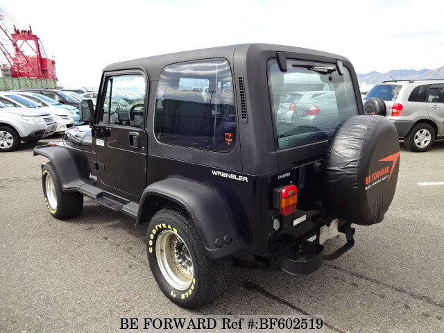 used 1992 jeep wrangler hard top t h8mx for sale bf602519 be forward. Black Bedroom Furniture Sets. Home Design Ideas