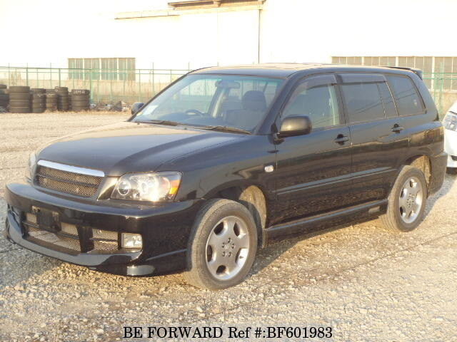 Used 2003 TOYOTA KLUGER BF601983 for Sale
