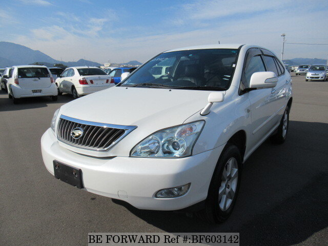 Used 2010 TOYOTA HARRIER BF603142 for Sale