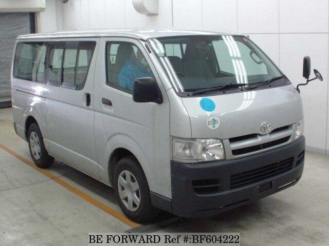 Used 2007 TOYOTA REGIUSACE VAN BF604222 for Sale