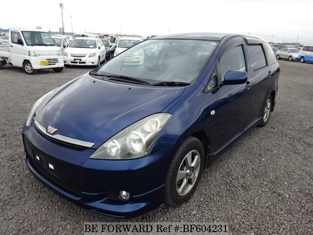 Used 2004 TOYOTA WISH BF604231 for Sale