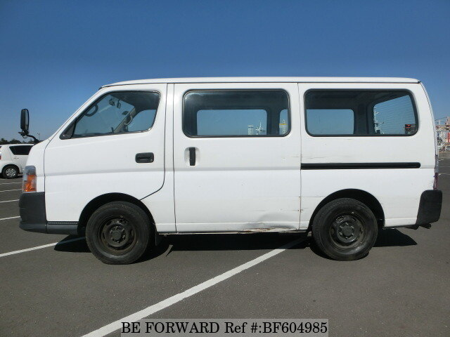 used 2007 nissan caravan van kr vwe25 for sale bf604985 be forward. Black Bedroom Furniture Sets. Home Design Ideas