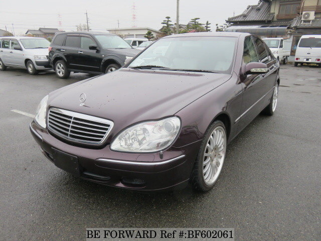 Used 2000 MERCEDES-BENZ S-CLASS BF602061 for Sale