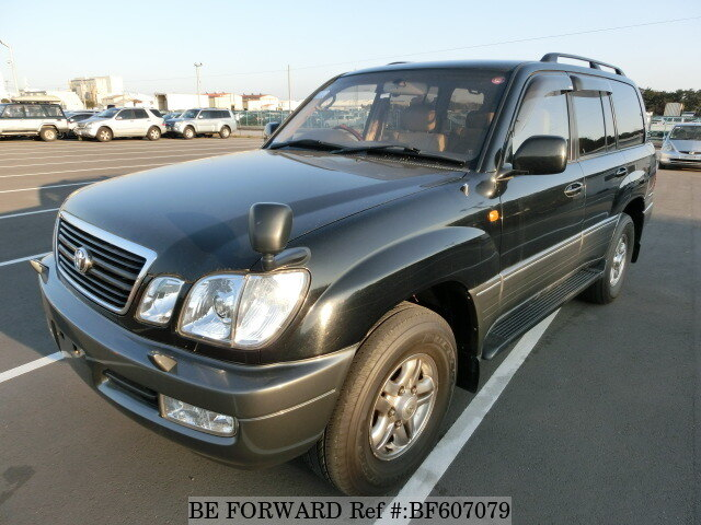 Used 2002 TOYOTA LAND CRUISER BF607079 for Sale