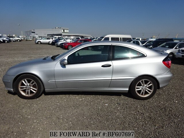 Used 2002 mercedes benz c class c200 kompressor sports for 2002 mercedes benz c class coupe