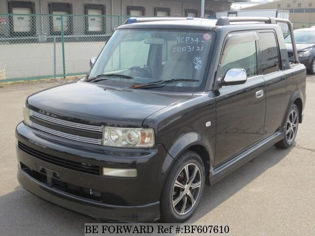 Used 2001 TOYOTA BB BF607610 for Sale