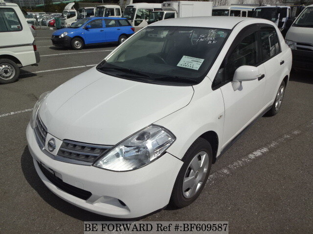 Used 2008 NISSAN TIIDA LATIO BF609587 for Sale