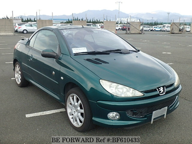 used 2003 peugeot 206 cc roland garros gh a206cc for sale bf610433 be forward. Black Bedroom Furniture Sets. Home Design Ideas