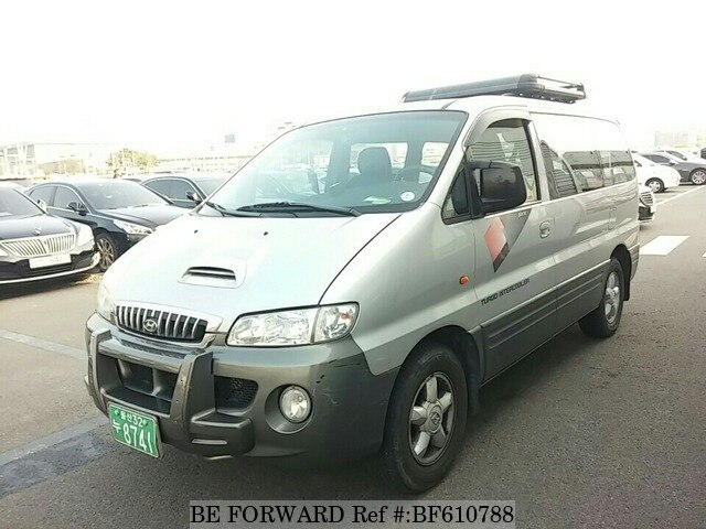 used 2002 hyundai starex rv tci for sale bf610788 be forward. Black Bedroom Furniture Sets. Home Design Ideas
