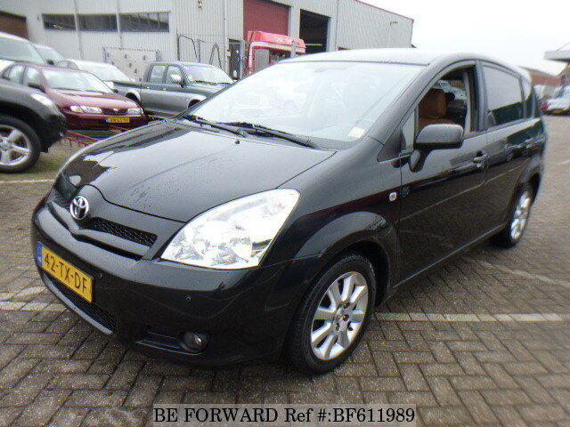 used 2007 toyota corolla verso for sale bf611989 be forward. Black Bedroom Furniture Sets. Home Design Ideas