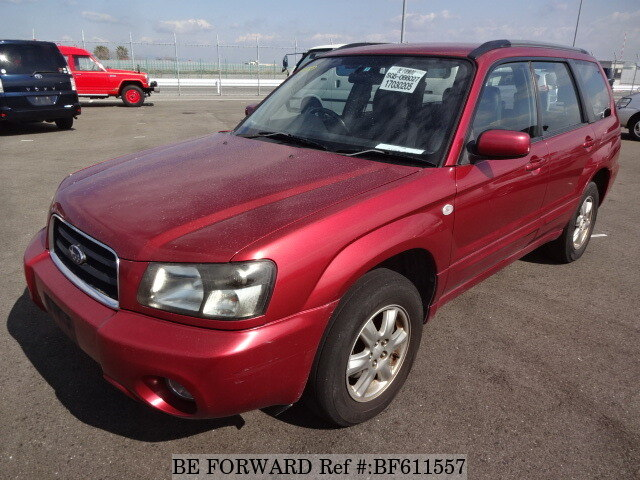 Used 2004 SUBARU FORESTER BF611557 for Sale