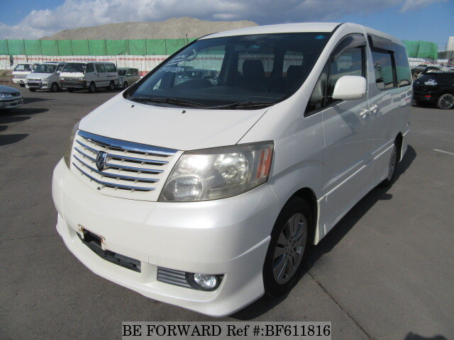 Used 2003 TOYOTA ALPHARD BF611816 for Sale