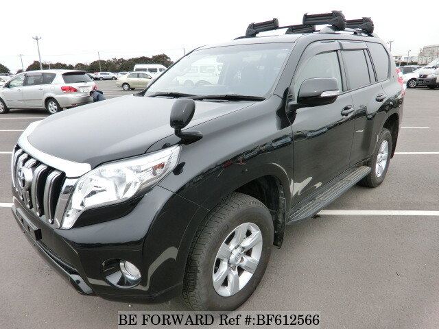 Used 2015 TOYOTA LAND CRUISER PRADO BF612566 for Sale