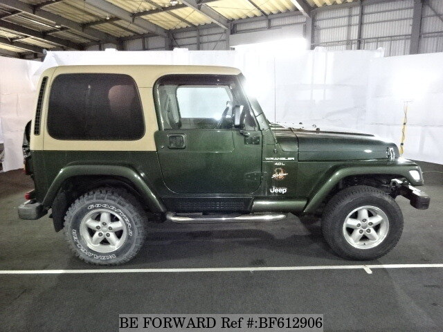used 1997 jeep wrangler sahara e tj40h for sale bf612906. Black Bedroom Furniture Sets. Home Design Ideas