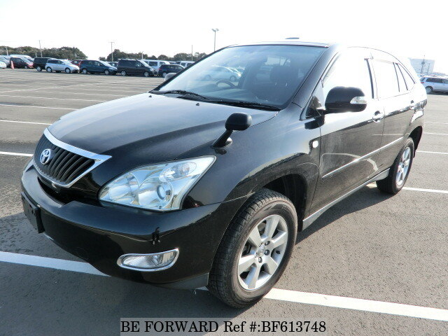 Used 2008 TOYOTA HARRIER BF613748 for Sale
