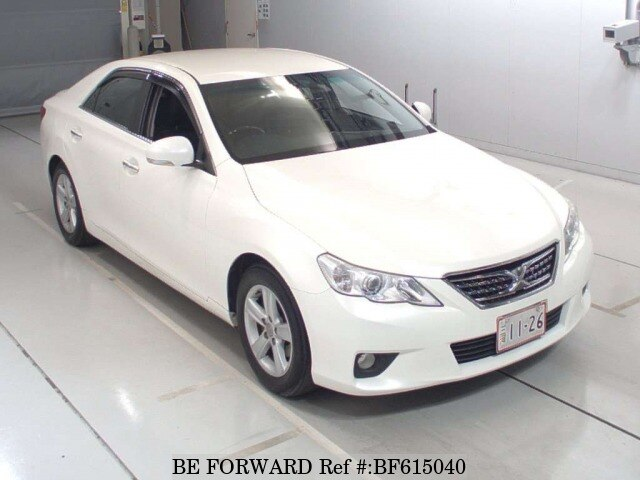 Used 2012 TOYOTA MARK X BF615040 for Sale
