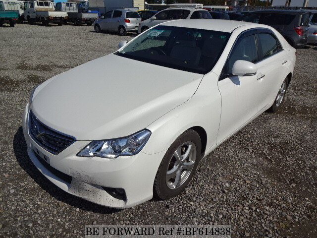 Used 2010 TOYOTA MARK X BF614838 for Sale
