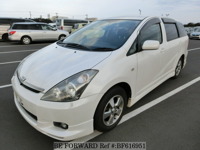 Used 2004 TOYOTA WISH BF616951 for Sale