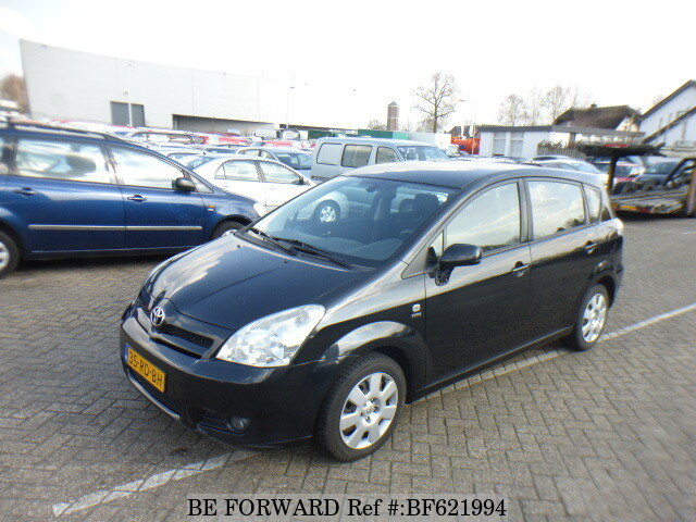 used 2005 toyota corolla verso for sale bf621994 be forward. Black Bedroom Furniture Sets. Home Design Ideas