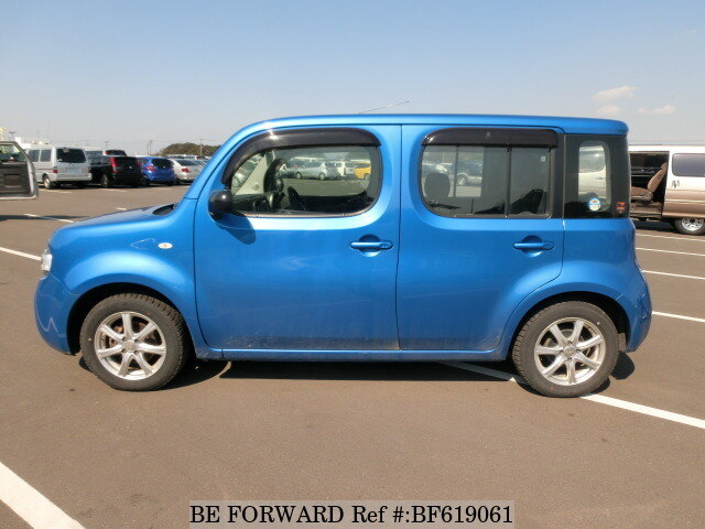 used 2009 nissan cube 15s dba z12 for sale bf619061 be forward. Black Bedroom Furniture Sets. Home Design Ideas