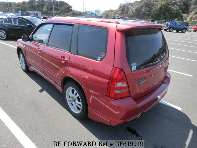 used 2003 subaru forester cross sports ta sg5 for sale bf619949 be forward. Black Bedroom Furniture Sets. Home Design Ideas