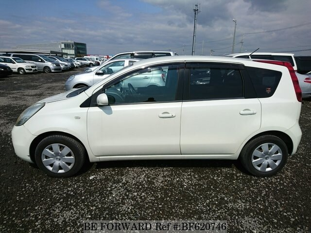 used 2006 nissan note dba e11 for sale bf620746 be forward. Black Bedroom Furniture Sets. Home Design Ideas