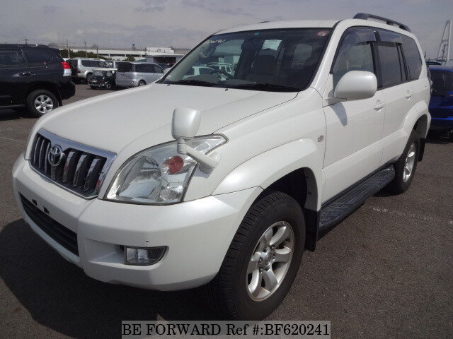 Used 2004 TOYOTA LAND CRUISER PRADO BF620241 for Sale