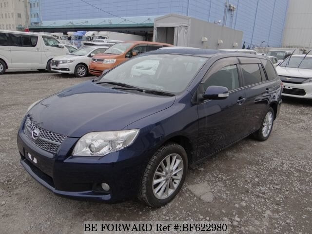 Used 2007 TOYOTA COROLLA FIELDER BF622980 for Sale
