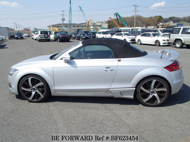 used 2008 audi tt road star 2 0tfsi aba 8jbwa for sale bf623454 be forward. Black Bedroom Furniture Sets. Home Design Ideas