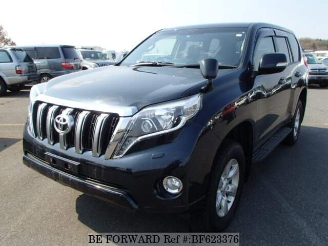 Used 2014 TOYOTA LAND CRUISER PRADO BF623376 for Sale