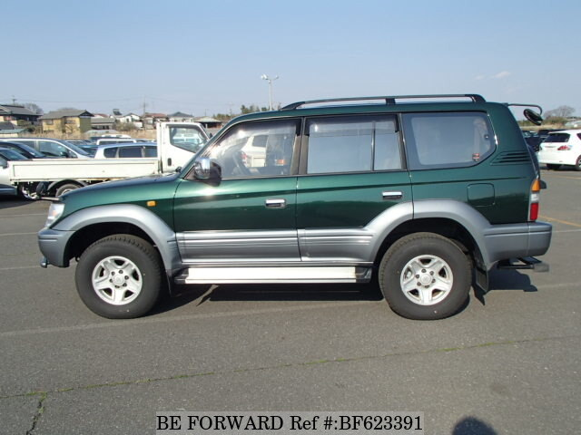 used 1998 toyota land cruiser prado kd kzj95w for sale. Black Bedroom Furniture Sets. Home Design Ideas