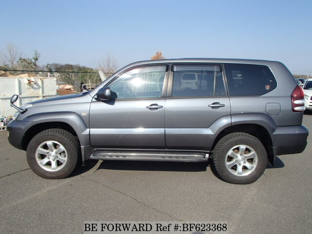 used 2004 toyota land cruiser prado tx la rzj120w for sale. Black Bedroom Furniture Sets. Home Design Ideas
