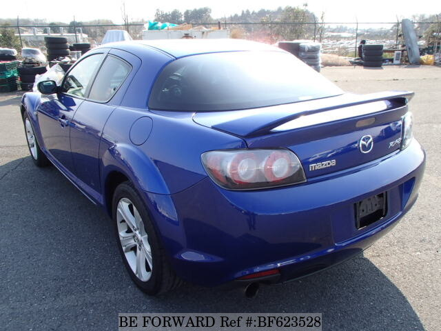 used 2008 mazda rx 8 aba se3p for sale bf623528 be forward. Black Bedroom Furniture Sets. Home Design Ideas