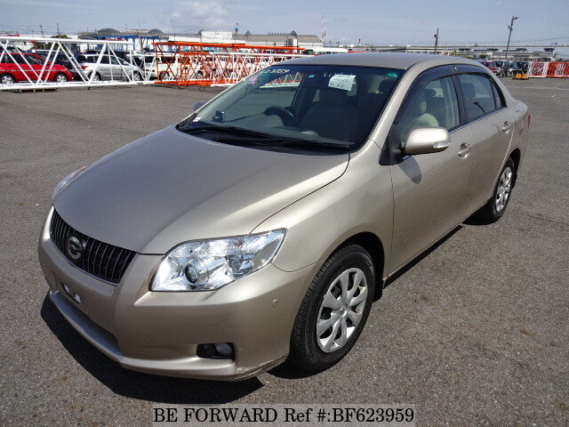 used 2008 toyota corolla axio luxel alpha edition dba zre142 for sale bf623959 be forward. Black Bedroom Furniture Sets. Home Design Ideas