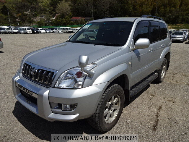 Used 2006 TOYOTA LAND CRUISER PRADO BF626321 for Sale