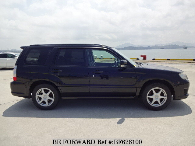 used 2006 subaru forester cross sports cba sg5 for sale bf626100 be forward. Black Bedroom Furniture Sets. Home Design Ideas