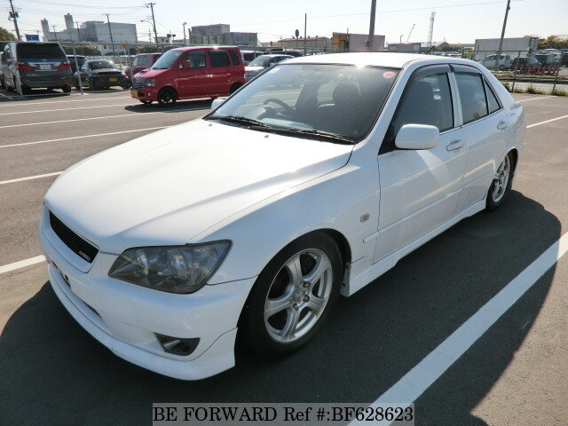 Used 2004 TOYOTA ALTEZZA BF628623 for Sale