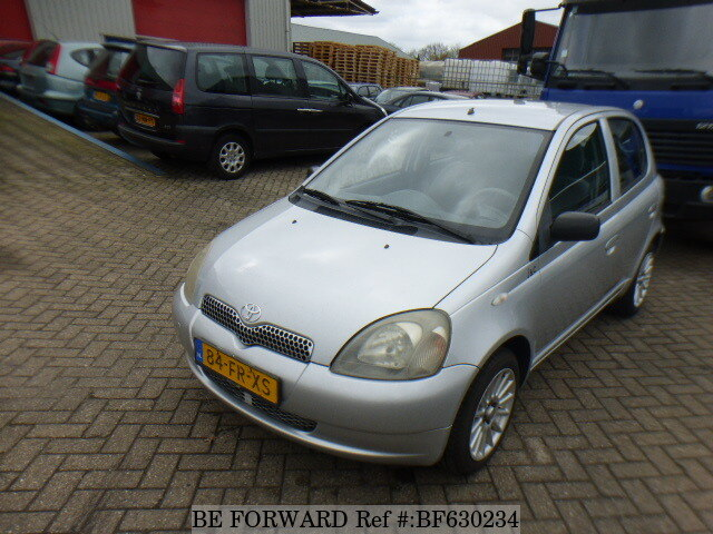 used 2000 toyota yaris for sale bf630234 be forward. Black Bedroom Furniture Sets. Home Design Ideas