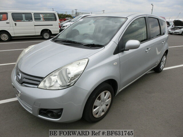 Used 2012 NISSAN NOTE BF631745 for Sale