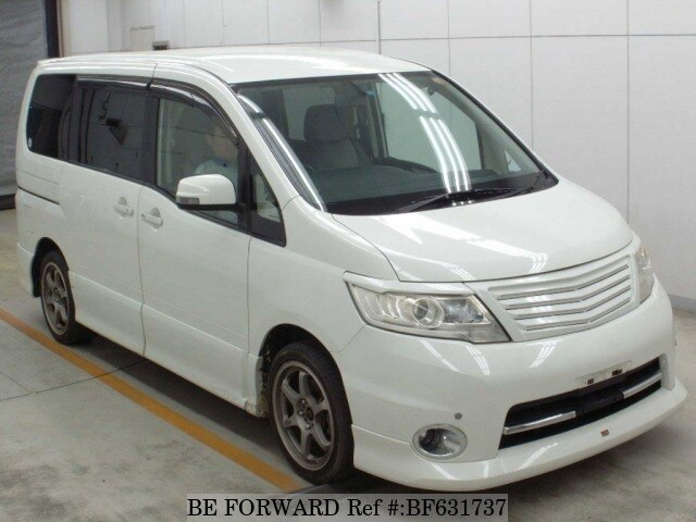 Used 2008 NISSAN SERENA BF631737 for Sale