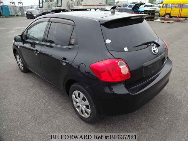 used 2008 toyota auris 150x m package dba nze151h for sale bf637521 be forward. Black Bedroom Furniture Sets. Home Design Ideas